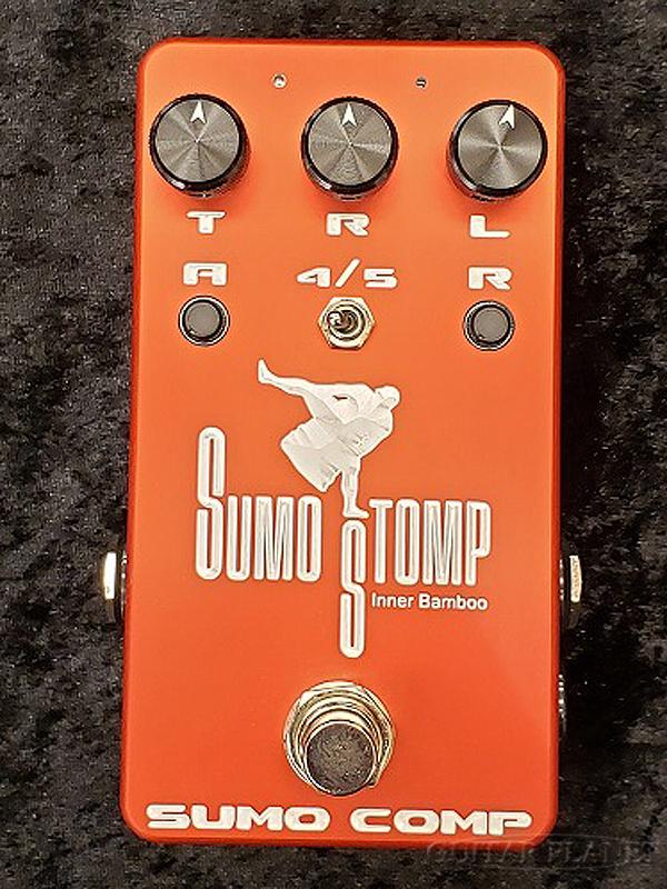 SUMO STOMP SUMO COMP 新品 [相撲,スモウ][Inner Bamboo Bass Instruments,インナーバンブー][Compressor,コンプレッサー][Effector,エフェクター]