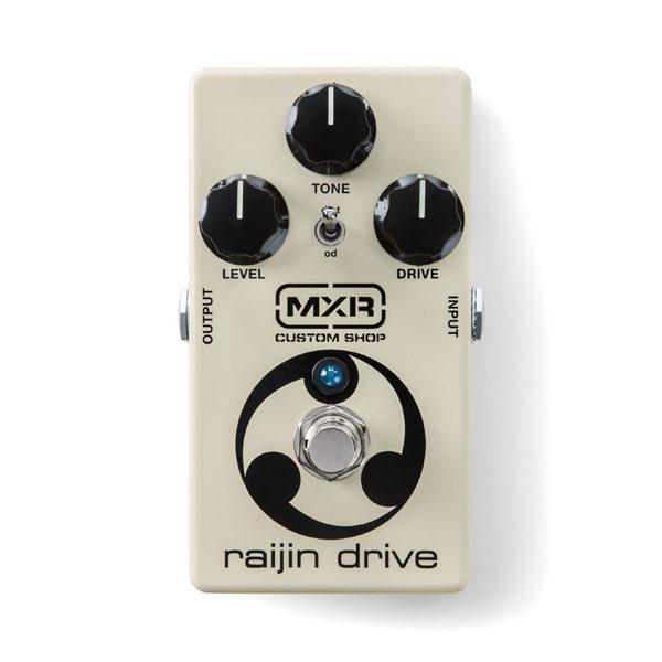 MXR RAIJIN DRIVE / CSP037 新品 オーバードライブ/ディストーション[CSP-037][Overdrive,Distortion][Effector,エフェクター]_hzm