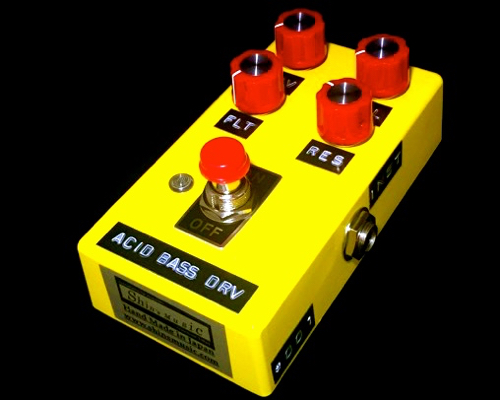 Shin's Music ACID BASS DRIVE 新品 ベース用オーバードライブ[シンズミュージック][Electric Bass][Effector,エフェクター]