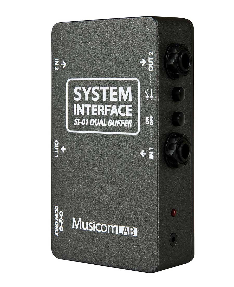 System Interface SI-01 Dual Buffer 新品 [システムインターフェース][デュアルバッファー][ジャンクションボックス][Effector,エフェクター]