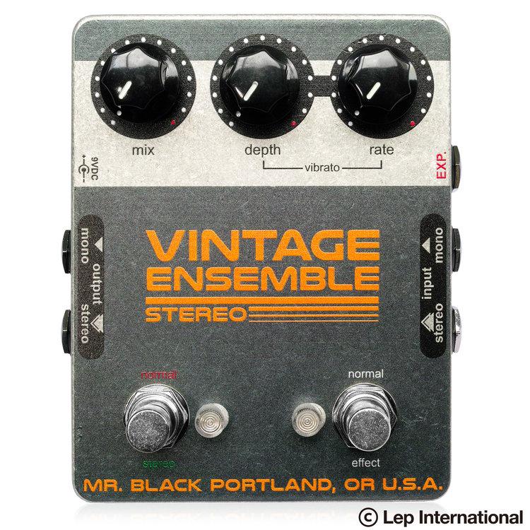 Mr. Black Stereo Vintage Ensemble 新品 コーラス [ミスターブラック][ステレオヴィンテージアンサンブル][Chorus,Modulation,モジュレーション][エフェクター,Effector]_otherfx