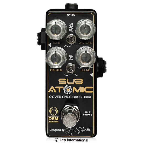 DSM Noisemaker Sub Atomic 新品 ベースオーバードライブ[ノイズメーカー][サブアトミック][Bass Overdrive][Effector,エフェクター]【used_エレキギター】