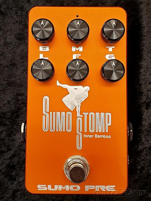 SUMO STOMP SUMO PRE 新品 [相撲,スモウ][Inner Bamboo Bass Instruments,インナーバンブー][Preamp,プリアンプ][Effector,エフェクター]