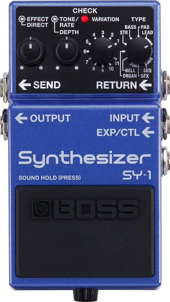BOSS SY-1 新品 Synthesizer[ボス][シンセサイザー][ギターシンセ][エフェクター,Effector]