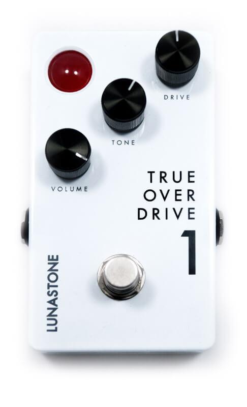 LUNASTONE TRUEOVERDRIVE 1 新品 オーバードライブ[ルナストーン][トゥルーオーバードライブ][Overdrive][Effector,エフェクター]