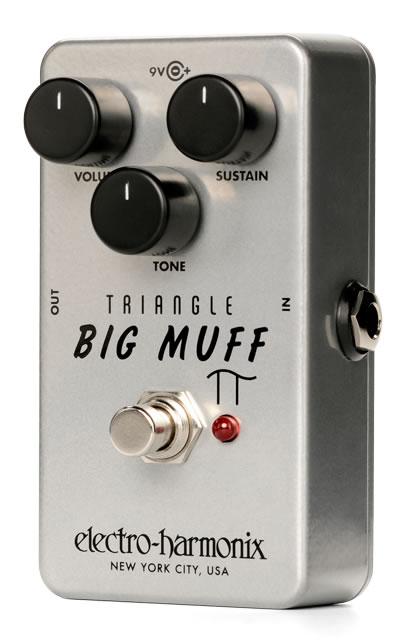 【正規品】electro-harmonix Triangle Big Muff Pi 新品 トライアングルビッグマフ [エレクトロハーモニクス][ビッグマフ][Fuzz,ファズ][Distortion,ディストーション][Effector,エフェクター]