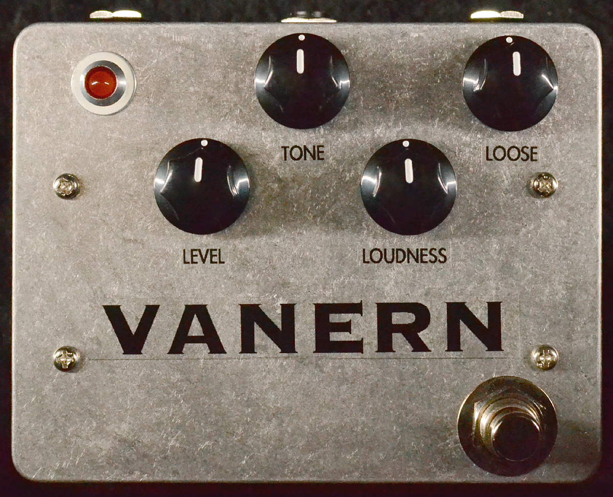 Alias Sound VANERN 賜物 新品 ディストーション Distortion ヴェーネル エフェクター エイリアスサウンド 買物 Effector