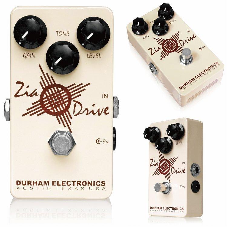 Durham Electronics Zia Drive 新品 オーバードライブ [ダーハムエレクトロニス][ジアドライブ][Overdrive][Effector,エフェクター]