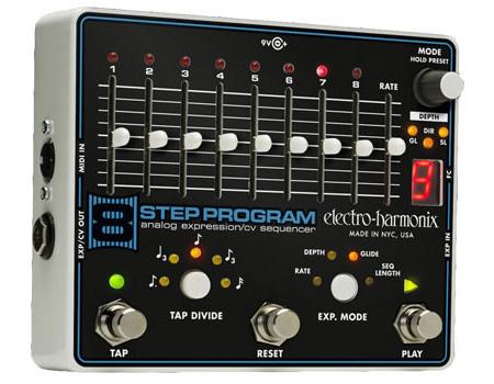 【正規品】electro-harmonix 8 Step Program & 専用フットコントローラーセット 新品 アナログ・エクスプレッション/CVシーケンサー[エレクトロハーモニクス][Sequencer][Foot Contoller][Effector,エフェクター]