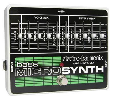 【正規品】electro-harmonix Bass Micro Synth 新品 ベースシンセサイザー[エレクトロハーモニクス][マイクロシンセ][ベース用][Effector,エフェクター]