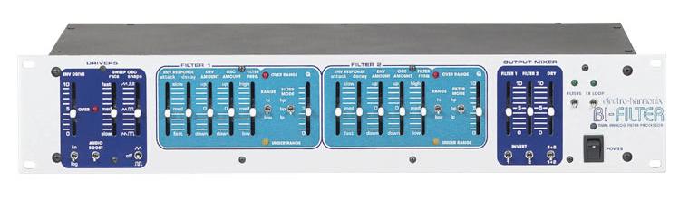 【正規品】electro-harmonix Bi-Filter 新品 アナログフィルター[エレクトロハーモニクス][Biフィルター][Dual Analog Filter Processor][Effector,エフェクター]
