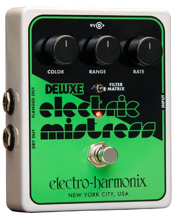 【純正アダプター付属】【正規品】electro-harmonix Deluxe Electric Mistress 新品 アナログフランジャー[エレクトロハーモニクス][デラックスエレクトリックミストレス][Analog Flanger][Effector,エフェクター]