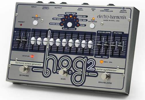 【正規品】electro-harmonix H.O.G.2 新品 ハーモニック・オクターブ・ジェネレーター/ギターシンセサイザー[エレクトロハーモニクス][HOG2][Guitar Synthesizer][Effector,エフェクター]