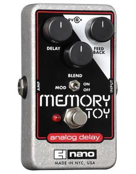 【正規品】electro-harmonix Memory Toy 新品 アナログディレイ[エレクトロハーモニクス][メモリーマントイ][Analog Delay][Effector,エフェクター]