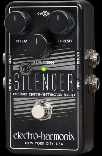 【正規品】electro-harmonix Silencer 新品[エレクトロハーモニクス][サイレンサー][ノイズゲート][エフェクトループ][Effector,エフェクター]