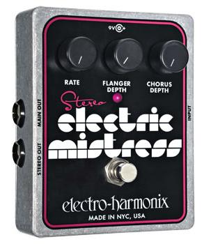 【正規品】electro-harmonix Stereo Electric Mistress 新品 フランジャー/コーラス[エレクトロハーモニクス][ステレオエレクトリックミストレス][Flanger,Chorus][Effector,エフェクター]