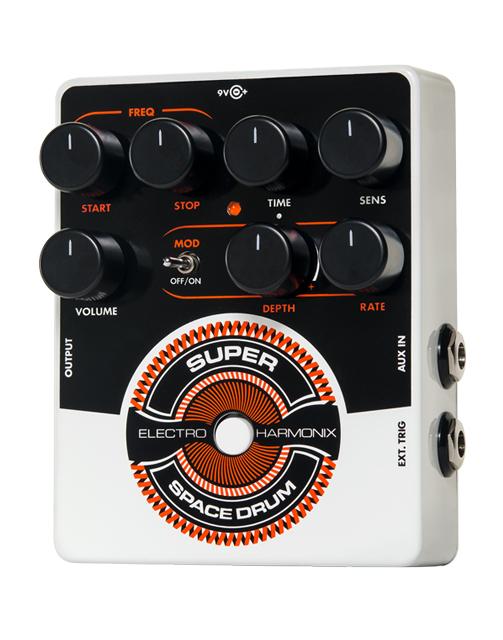【純正アダプター付属】【正規品】electro-harmonix Super Space Drum Analog Drum Synthesizer 新品[エレクトロハーモニクス,エレハモ][スーパースペースドラム][アナログドラムシンセサイザー][Effector,エフェクター]