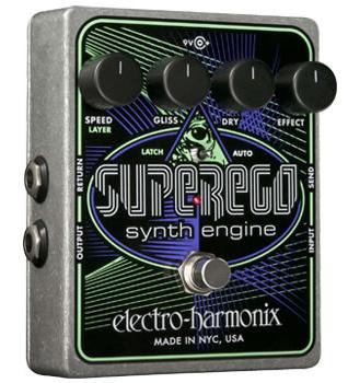 【正規品】electro-harmonix Superego 新品 シンセエンジン[エレクトロハーモニクス][スーパーイーゴ][Synth Engine][Multi Effector]