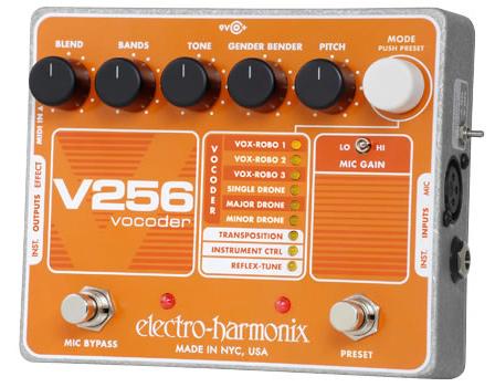 【正規品】electro-harmonix V256 新品 ボコーダー[エレクトロハーモニクス][Vocoder][Effector,エフェクター]