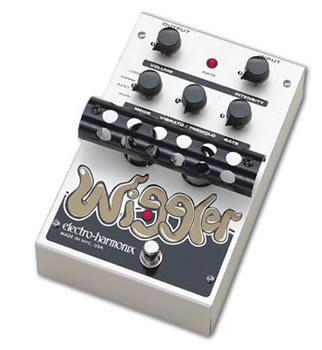 【正規品】electro-harmonix Wiggler 新品 Vibrato&Tremolo[エレクトロハーモニクス][ウィグラー][ビブラート][トレモロ][真空管搭載,オールチューブ][Effector,エフェクター]