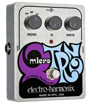 【正規品】electro-harmonix Micro Q-Tron 新品 オートワウ[エレクトロハーモニクス][マイクロキュートロン][Envelope Follower,エンベロープフォロワー][Auto Wah][Effector,エフェクター]