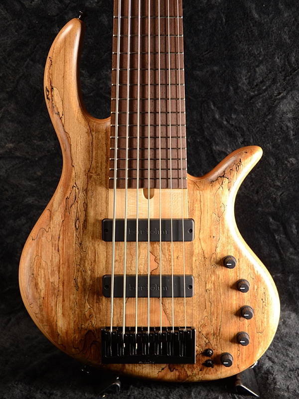 Elrick Gold Series E-volution 7st -Spalted Maple Top&Alder Back- 新品[エルリック][ゴールドシリーズ][エボリューション][スポルテッドメイプル][7strings,7弦][Electric Bass,エレキベース]
