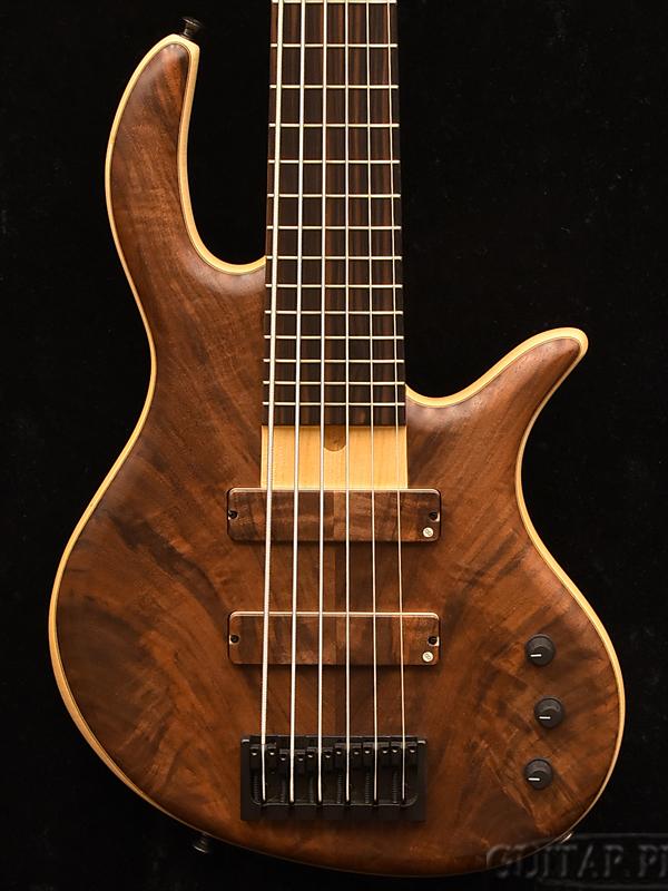 elrick Gold Series e-volution SLC 6 -Burled Redwood- 新品[エルリック][ゴールドシリーズ][エボリューション][スティーブ・ローソン][6strings,6弦][Electric Bass,エレキベース]