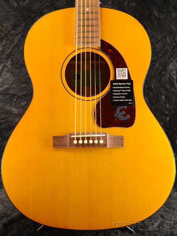 【トップ単板仕様】Epiphone Caballero Artist Custom 新品 Natural Satin[エピフォン][ナチュラルサテン][Acoustic Guitar,アコースティックギター]