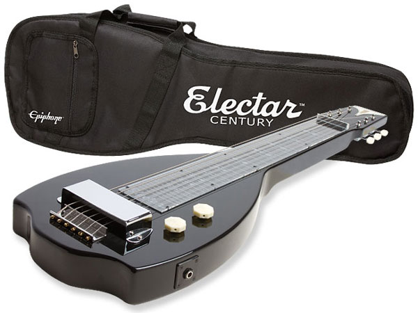 Epiphone Electar Inspired by 1939 Century Lap Steel Outfit ラップスチールギター 新品 ブラック[エピフォン][黒,Black][エレキギター,Electric Guitar]