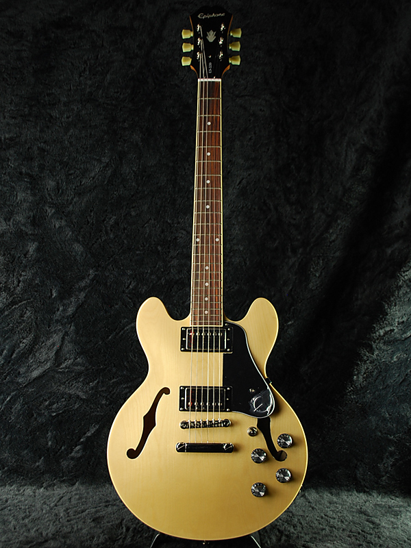 【ERNIE BALL4点セット付】Epiphone ES-339 Pro w/Coil Tap Natural 新品 ナチュラル[エピフォン][ES339][コイルタップ][セミアコ][Electric Guitar,エレキギター]
