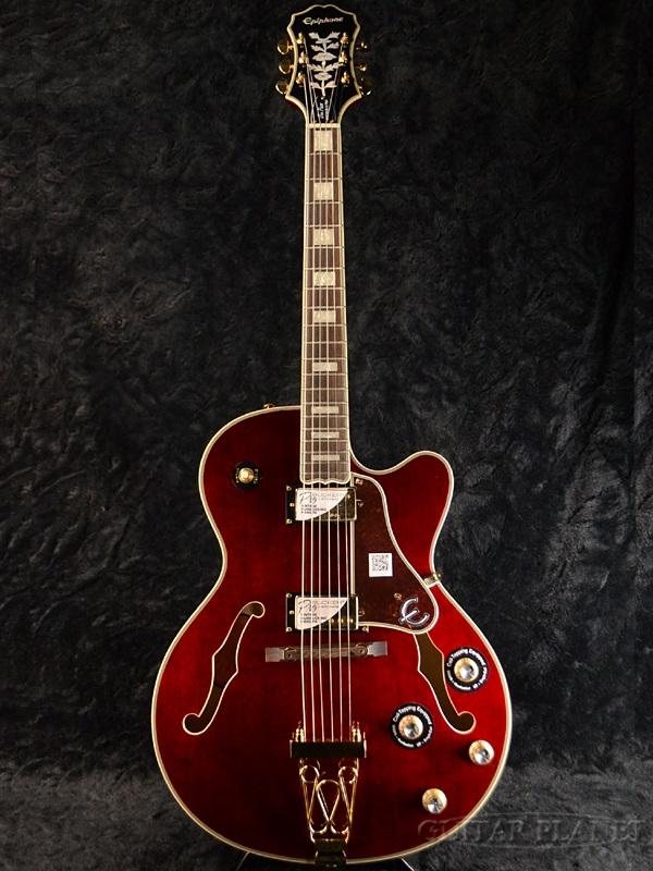 Epiphone Joe Pass Emperor II Pro WR 新品 ワインレッド[エピフォン][ジョーパス][エンペラー][フルアコ][アーチトップ][Wine Red][エレキギター,Electric Guitar]