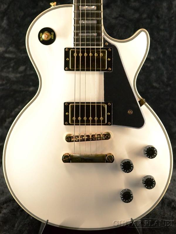 【2020年モデル】Epiphone Les Paul Custom -Alpine White- 新品 ホワイト[エピフォン][白][レスポールカスタム][エレキギター,Electric Guitar]
