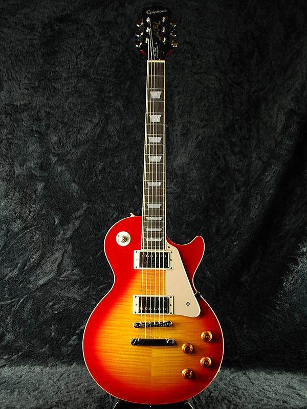 Epiphone Les Paul Standard Plus-top Pro w/Coil Tap 新品 ヘリテージチェリーサンバースト[エピフォン][レスポールスタンダード][Heritage Cherry Sunburst][LP STD CS][エレキギター,Electric Guitar]_nl