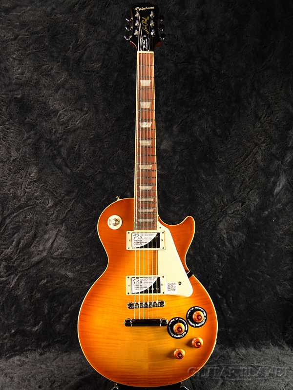 Epiphone Les Paul Standard Plus-top Pro w/Coil Tap 新品 ハニーバースト[エピフォン][レスポールスタンダード][Honey Burst][LP STD HB][エレキギター,Electric Guitar]