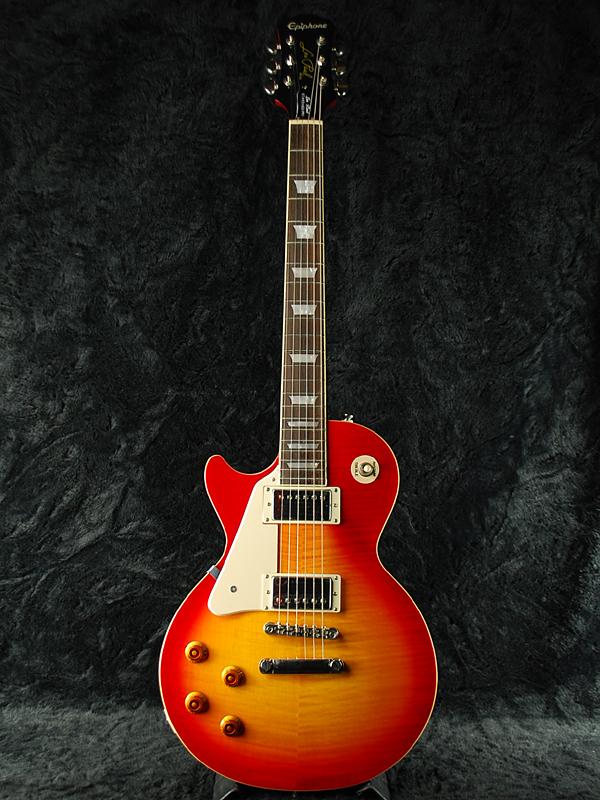 【ERNIE BALL4点セット付】Epiphone Les Paul Standard Plus-top Pro Left-Handed w/Coil Tap 新品 ヘリテージチェリーサンバースト[エピフォン][レスポールスタンダード][Heritage Cherry Sunburst][LP STD][Lefty,左][エレキギター,Electric Guitar]