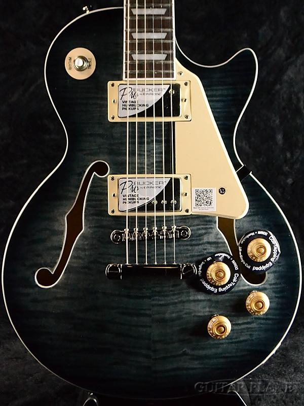 Epiphone Les Paul ES PRO -Trans Black- 新品 トランスブラック[エピフォン][レスポール][黒][エレキギター,Electric Guitar]