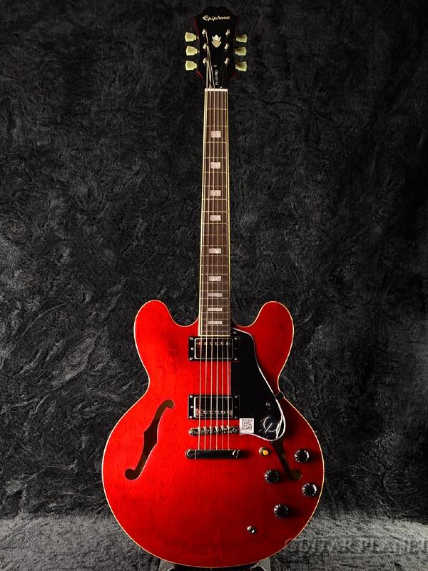 日本製 【ERNIE BALL4点セット付】Epiphone Limited Edition ES-335 Pro Cherry 新品 [エピフォン][プロ][チェリー,赤][セミアコ][エレキギター,Electric Guitar][ES335], コウヤグチチョウ daec9d06