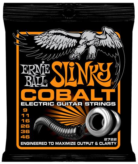 【12セット】ERNIE BALL 09-46 #2722 Cobalt Hybrid Slinky[アーニーボール][コバルト][ハイブリッドスリンキー][エレキギター弦,String]