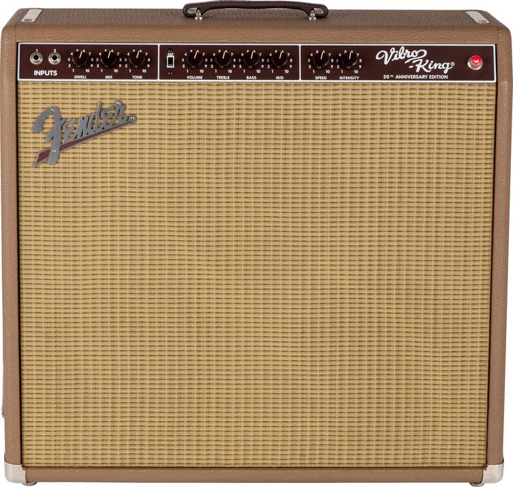 Fender USA Vibro-King 20th Anniversary 新品 ブラウン[フェンダー][ヴァイブロキング][茶][ギターアンプ/コンボ,Guitar combo amplifier][真空管,チューブ]