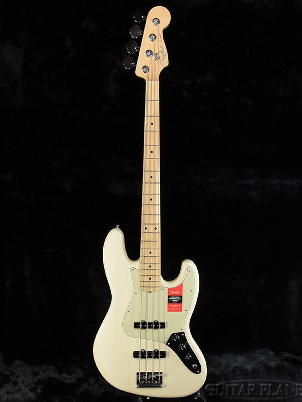 Fender USA American Professional Jazz Bass Olympic White/M 新品[フェンダー][アメリカンプロフェッショナル,アメプロ][ジャズベース][オリンピックホワイト,白][Electric Bass,エレキベース]