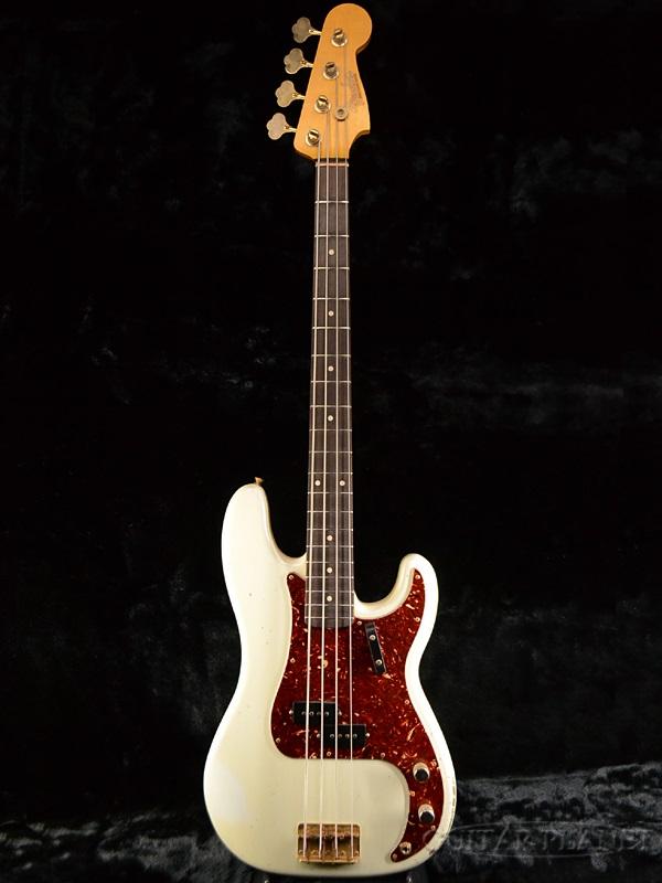 本物保証!  Fender Custom Shop 1960 Relic Fessler Precision Bass Bass Custom -Olympic White- By Greg Fessler 新品[フェンダーカスタムショップ,CS][オリンピックホワイト,白][PB,プレシジョンベース,プレべ][グレッグフェスラー][Electric Bass,エレキベース], 爆買い!:924c7274 --- blablagames.net