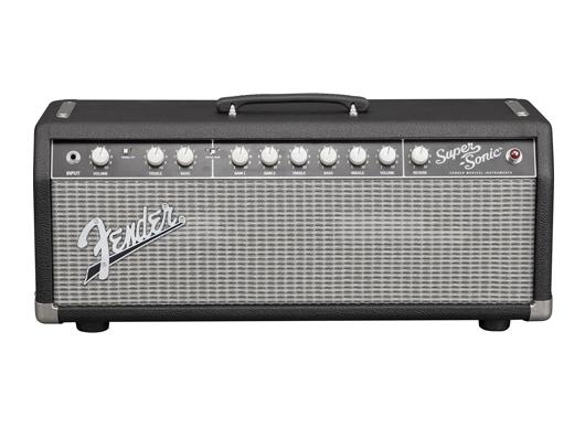 Fender USA Super-Sonic 22 HEAD Classic Black/Silver 新品 ギターアンプヘッド[フェンダー][スーパーソニック][ブラック,黒][Guitar Amplifier,Head]