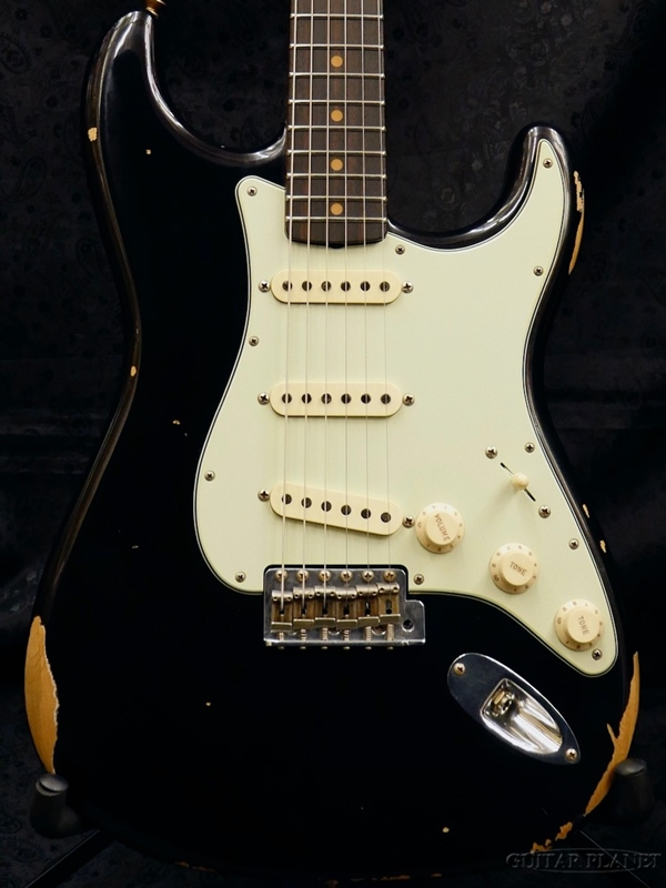 Fender Custom Shop ~2018 NAMM LIMITED #219~ 1960 ''Roasted'' Stratocaster Relic -Aged Black- 新品[フェンダーカスタムショップ][ストラトキャスター][エイジドブラック,黒][Electric Guitar,エレキギター]