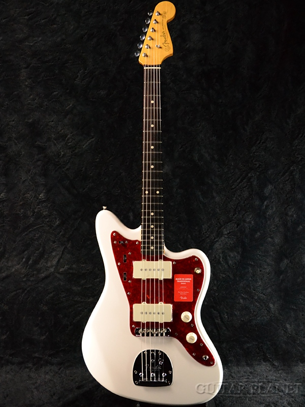 Fender Made In Japan Traditional 60s Jazzmaster Arctic White 新品 [フェンダージャパン][トラディショナル][アークティックホワイト, 白][ジャズマスター][Electric Guitar,エレキギター]