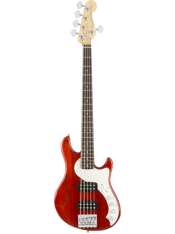 Fender American Elite Dimension Bass V HH 新品 [フェンダー][エリート][ディメンションベース][サンバースト,木目][ローズウッド][エレキベース,Electric Bass]