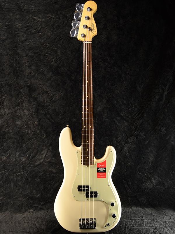 Fender USA American Professional Precision Bass Olympic White Rosewood 新品[フェンダー][アメリカンプロフェッショナル,アメプロ][オリンピックホワイト,白][プレシジョンベース,プレべ,PB][Electric Bass,エレキベース]