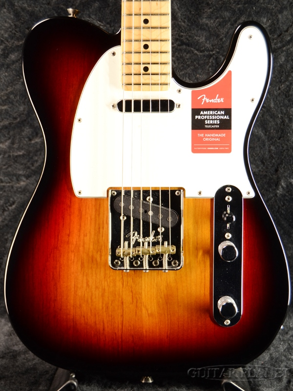 Fender USA American Professional Telecaster 3CS/M 新品[フェンダー][アメリカンプロフェッショナル][テレキャスター][3-Color Sunburst,3カラーサンバースト][Electric Guitar,エレキギター]