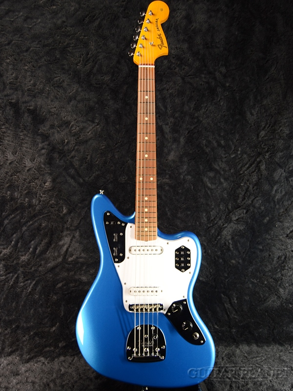 Fender Mexico Classic Series '60s Jaguar Lacquer Pau Ferro Fingerboard Lake Placid Blue 新品[フェンダーメキシコ][クラシック][ラッカー塗装][LPB,ブルー,青][JG,ジャガー][Electric Guitar,エレキギター]