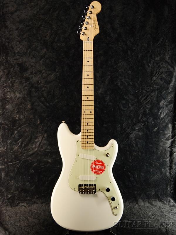 【税込】 Fender Mexico DUO-SONIC -Arctic White- 新品[フェンダーメキシコ][デュオソニック][アークティックホワイト,白][Mustang,ムスタング][エレキギター,Electric Guitar], オカガキマチ 53e3d009