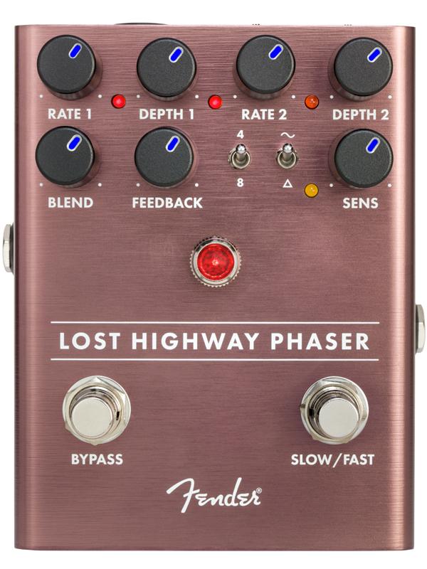 Fender Lost Highway Phaser 新品 フェイザー[フェンダー][Effector,エフェクター,ペダル]
